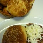 Panecillos de hamburguesas