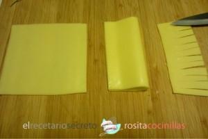 escobitas de queso - paso 1