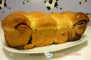 Hokkaido (pan de leche japonés) con nocilla