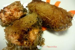 bocaditos de salmón marinado