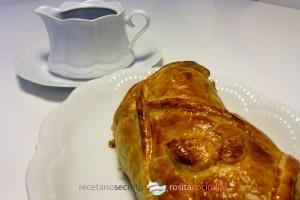 Solomillo al hojaldre con foie - varias raciones