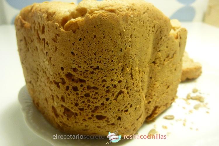pan de pipas y semillas de sésamo