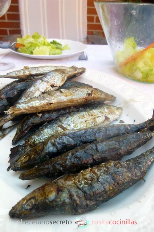 Aliño para mariscos: sardinas a la brasa