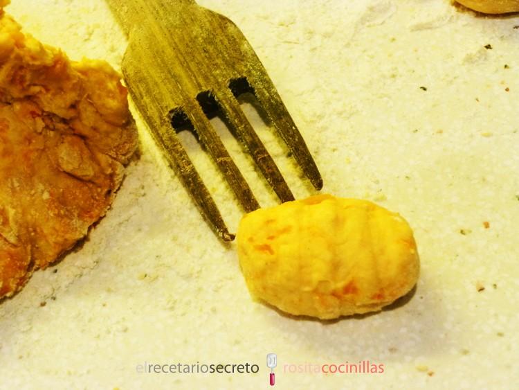Gnocchi de calabaza