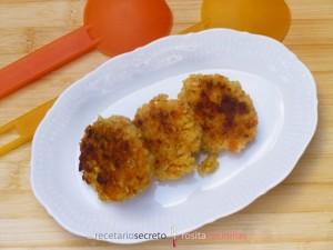 Tortitas de arroz, calabaza y sésamo