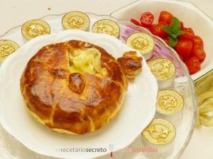 Camembert en hojaldre