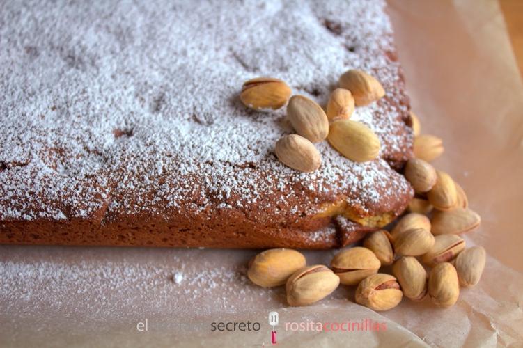 Bizcochitos de mazapán y pistacho